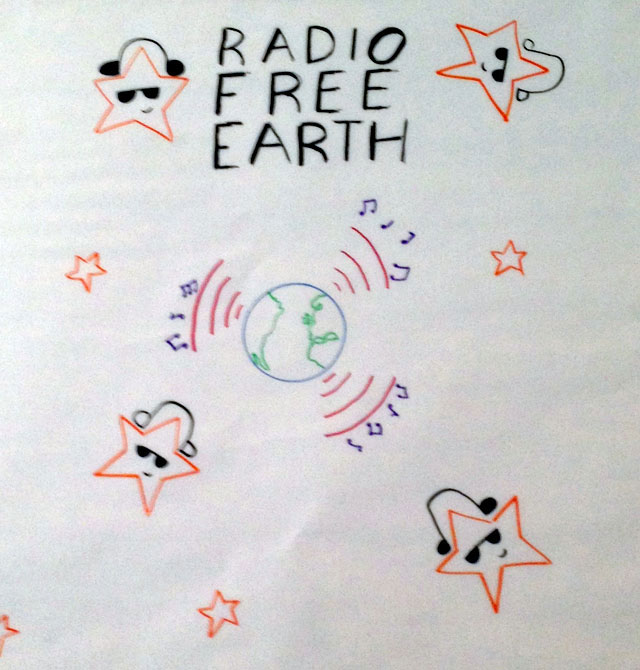 Radio Free Earth Poster